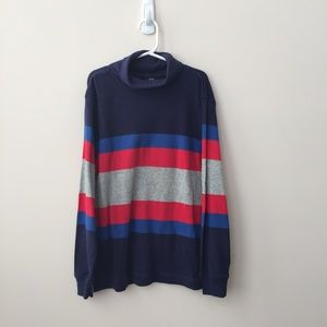 Gap Boy's Striped Turtleneck Size Medium